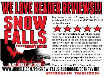 www bobbynash com: WE LOVE READER REVIEWS! SNOW FALLS AUDIO