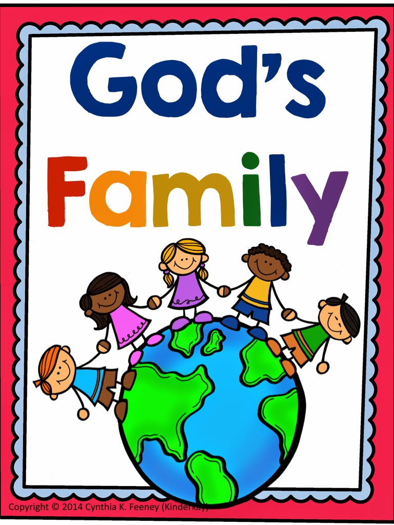 https://www.teacherspayteachers.com/Product/Gods-Family-Lets-Make-a-Book-1422162