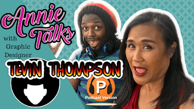 Annie Talks with Graphic Designer Tevin Thompson