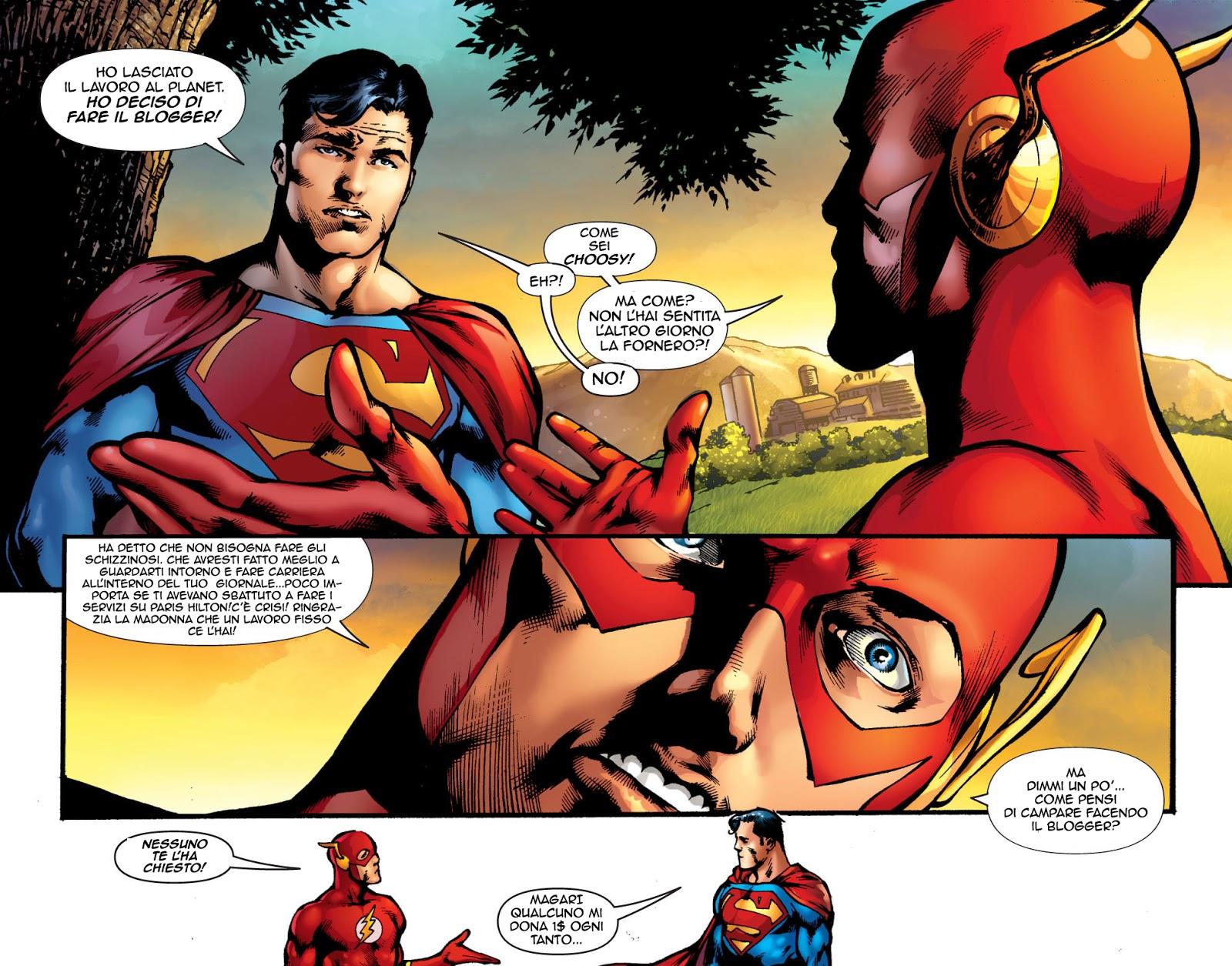 Superman fumetti porno