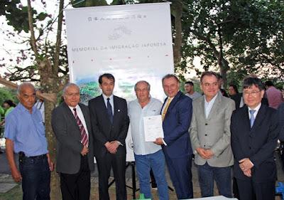 Prefeito Gilson assina contrato para construção do novo Memorial da Imigração Japonesa em Registro-SP