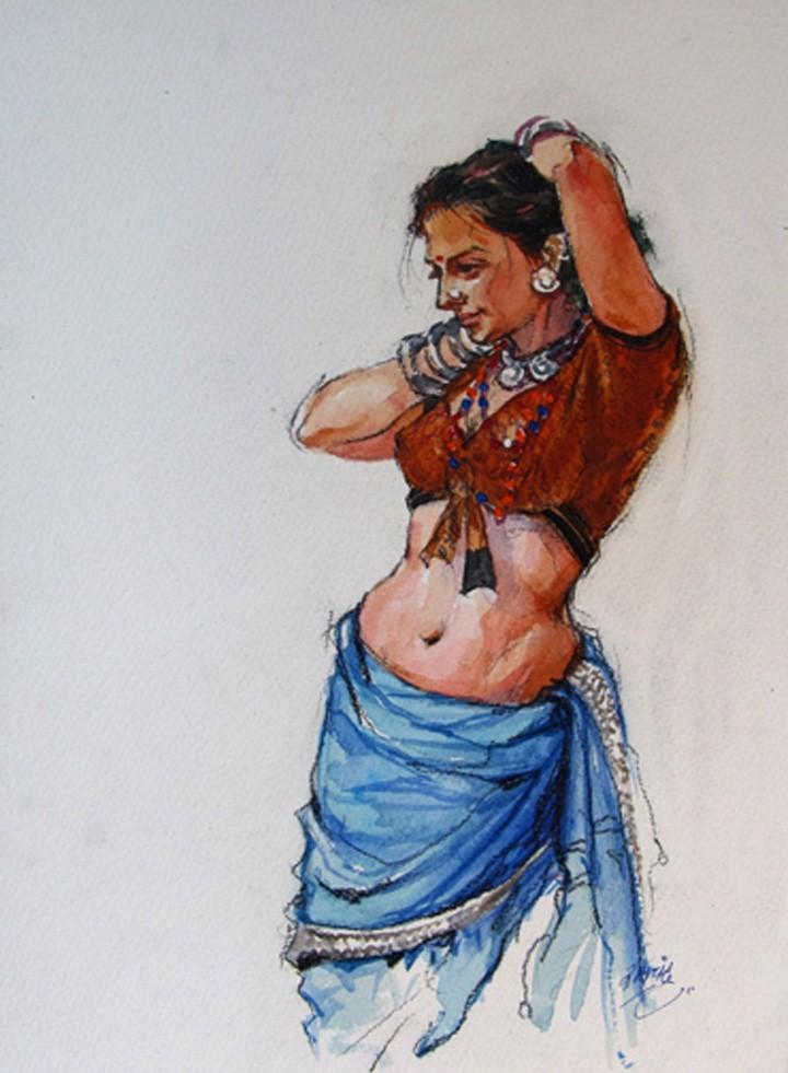 Ramchandra Kharatmal. Художник из Индии 11