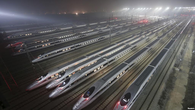 China Second Biggest Railway Network