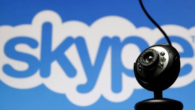 اجتماعات Skype بدون إحراج..مع إمكانية تشويش خلفية المكان الذي تجلس به!