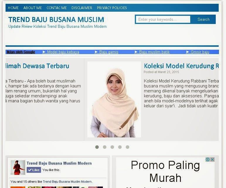 cara mencari referensi mode busana muslim