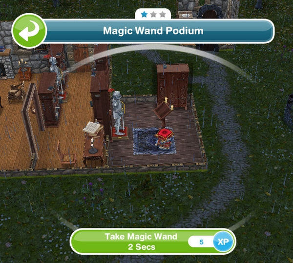 how to buy a crystal ball in sims freeplay