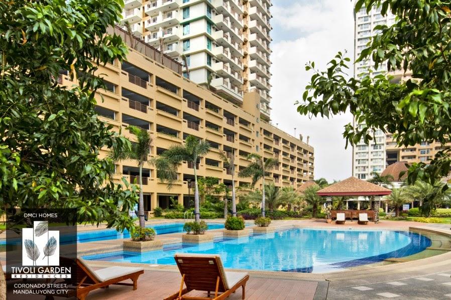 Tivoli Garde Residences Pool Deck