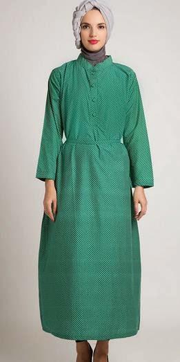 Baju muslim  untuk orang gemuk casual