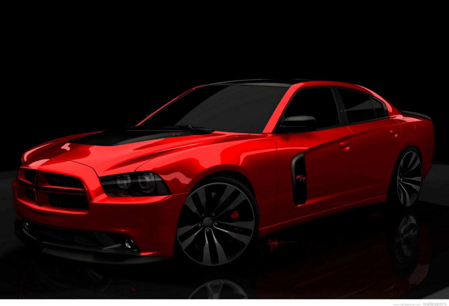 Red Dodge Charger Wallpaper Wallpapers Base