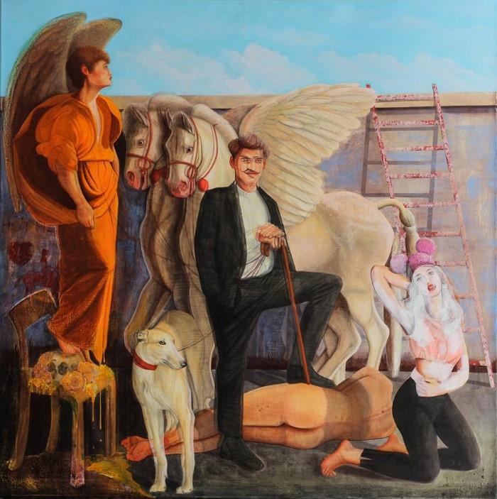 Казахский художник.