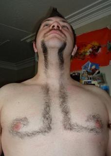 Las peores depilaciones masculinas - El bigote más largo del mundo