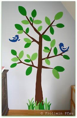 Kinderzimmer, Deko, Wandmalerei, Baum, Baby, Babyzimmer, Kinder, Kinderzimmerwand bemalen, Kinderzimmerbaum, Abdeckfarbe, DIY, malen