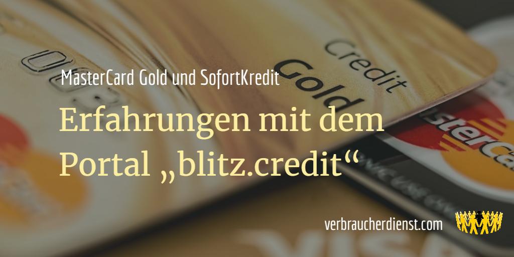 Blitz.Credit Erfahrungen