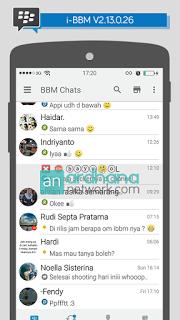 BBM Mod Iphone Versi 2.13.0.26 (iBBM)