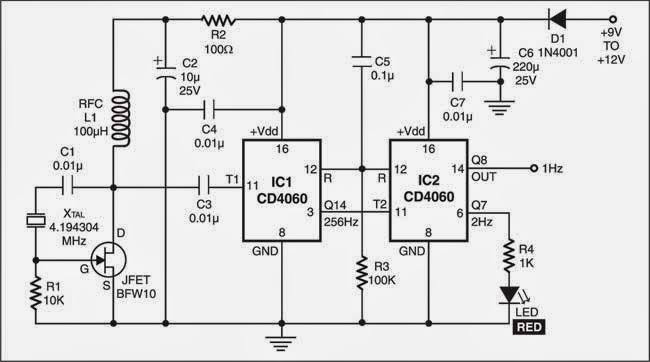 Ics Fixed 50 Output Duty Cycle Three Stage Cycling Timer Circuit