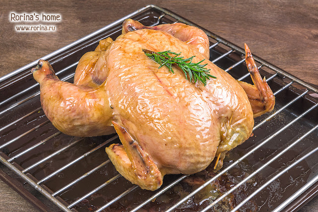 Запеченная целиком курица по Хестону Блюменталю: рецепт в духовке