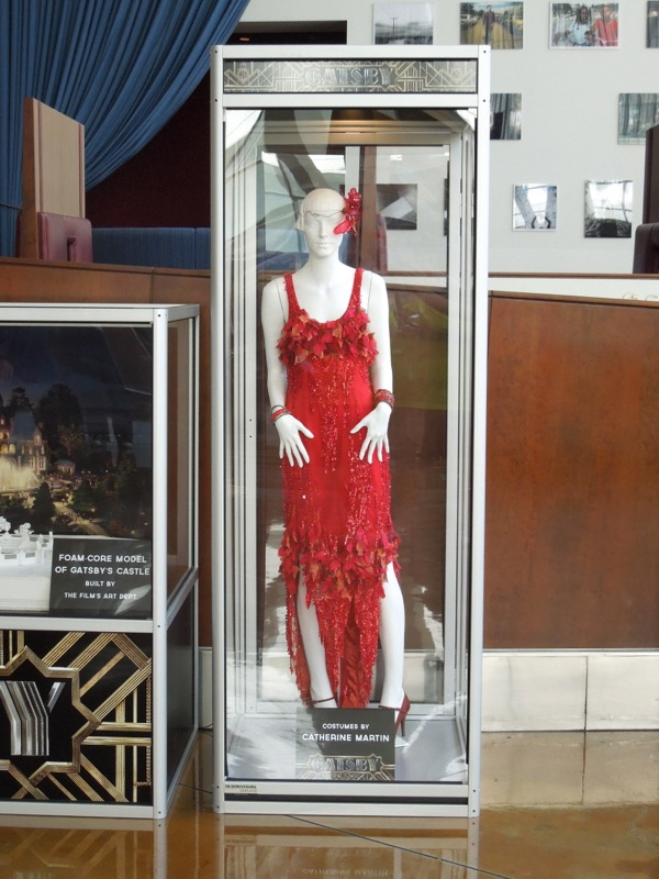 Great Gatsby red movie dress