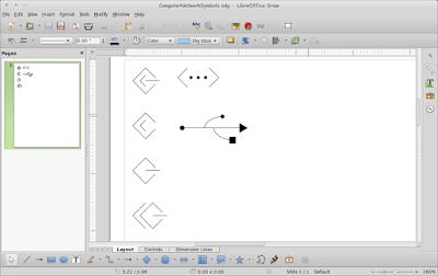 Menggambar Diagram Komputer dan Jaringan LibreOffice Draw