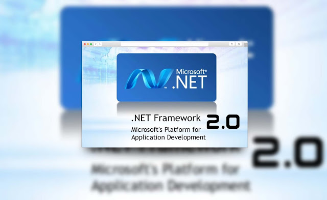 Microsoft .NET Framwork Version 2.0 Untuk Windows