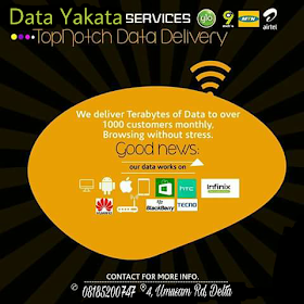 data yakata: cheap mtn, glo, airtel, and 9mobile SME resell and share data