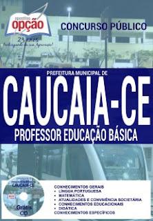 Apostila Prefeitura de Caucaia/CE Guarda Municipal 2016.