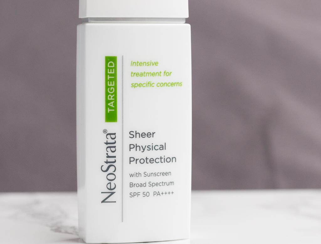sonnenschutz getoent neostrata sheer physical protection pa++++ vorderseite
