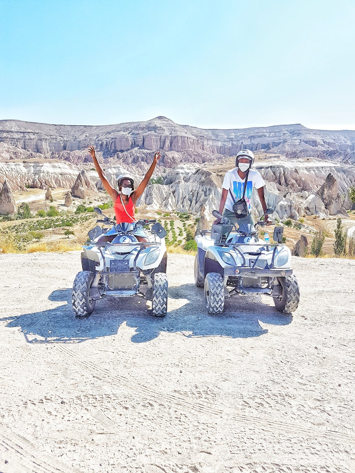Cappadocia ATV quad biking excursion