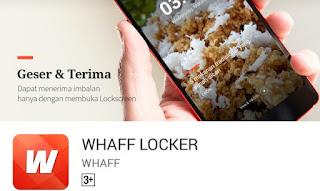 Whaff Locker!! Cara Cepat Menambah Dollar Aplikasi Whaff