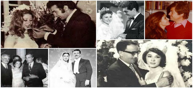 ثنائيات قصص الحب في الوسط الفني من الخمسينات حتى الألفية