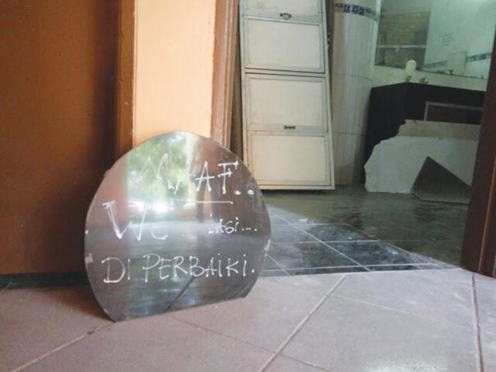 Disaat Anggaran Defisit, Renovasi WC Malah Miliaran