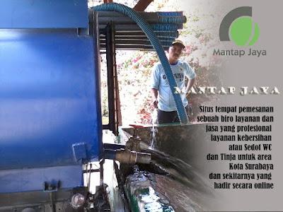 Jasa Ti nja dan Sedot WC Tambak Langon Surabaya