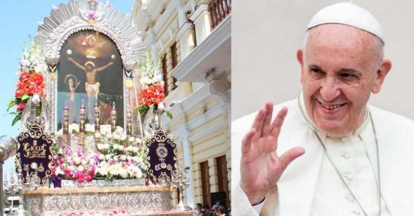 PAPA FRANCISCO EN PERÚ: Misa del Santo Padre será con el Señor de los Milagros - www.papafranciscoenperu.org