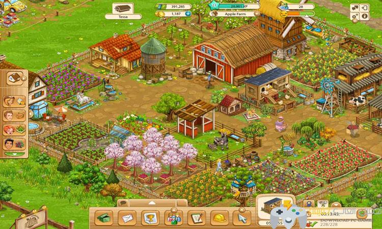 تحميل  لعبة المزرعة الكبيرة Big Farm