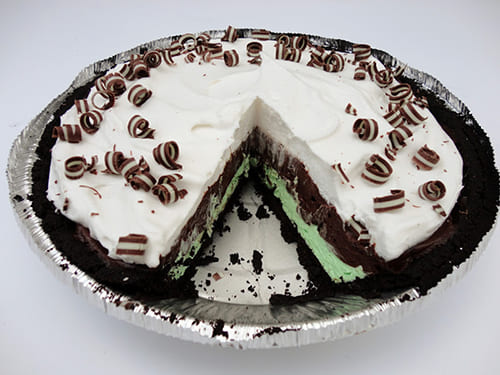 Chocolate Mint Meringue