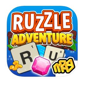 Ruzzle Adventure app palabras