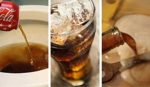 8 utilisations pratiques de coca cola que vous ne connaissez pas. Black Bedroom Furniture Sets. Home Design Ideas