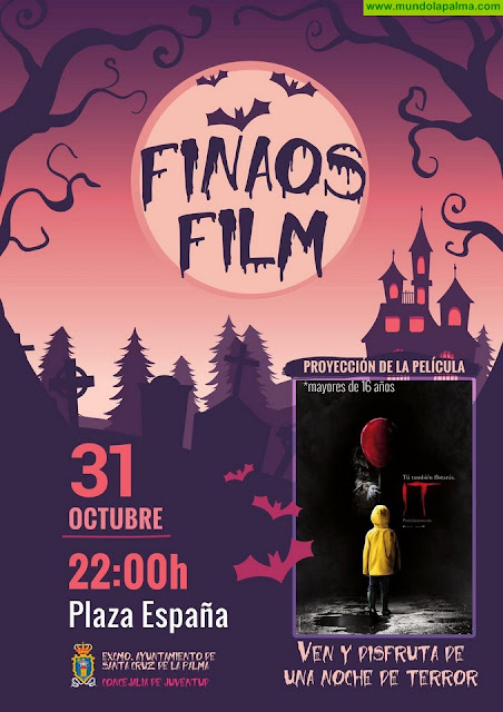 La Concejalía de Juventud celebra el 'Día de finados' con la proyección de una película