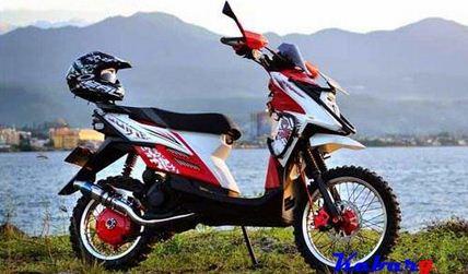 Modif Motor Matic Jadi Trail Modifikasi Motor