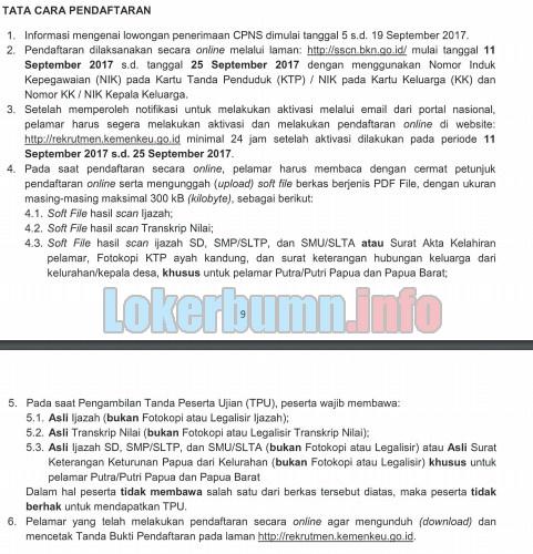 Cara Pendaftaran CPNS Kementerian Keuangan