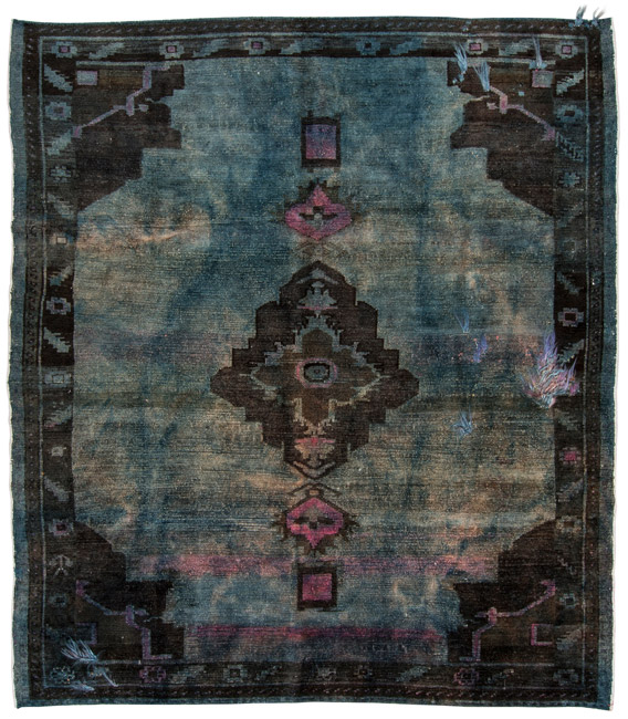 Splendid Little Thrills: Budget Friendly Over-dyed Rugs