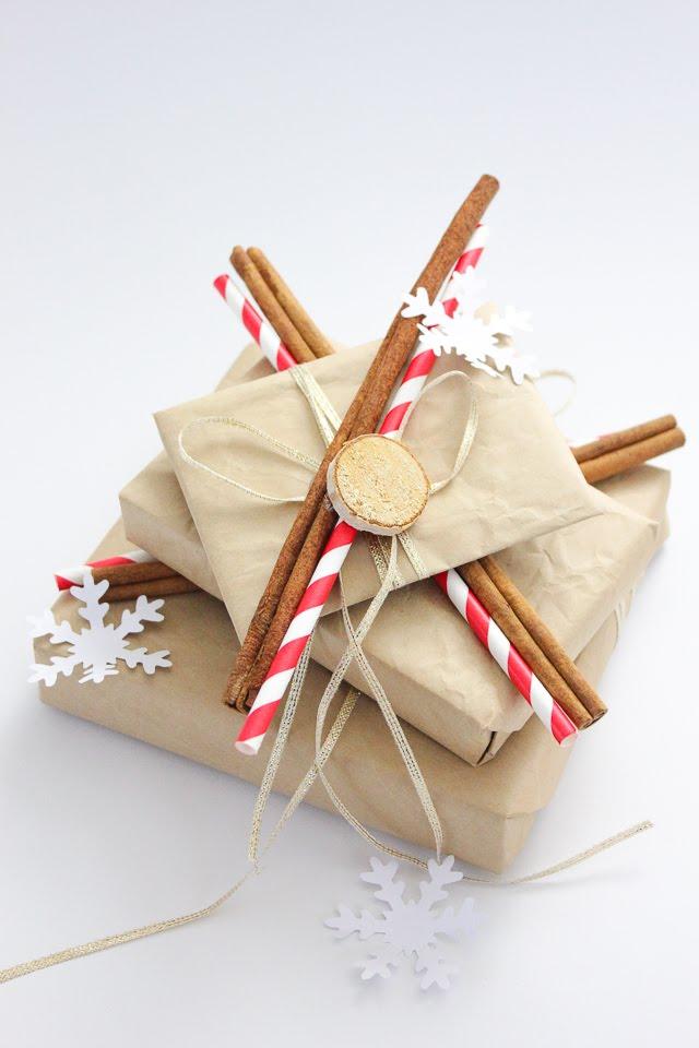 Gift Wrapping Christmas   Geschenkverpackung Weihnachten   Janna Werner