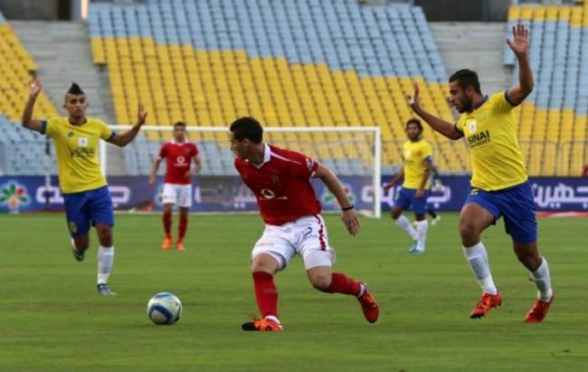 الصعوبات التي تواجه النادي الأهلي في مواجهته مع الإسماعيلي ضمن مباريات الدوري الممتاز 2016