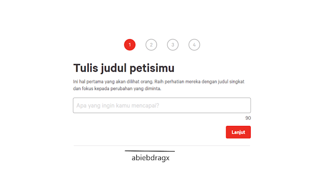 Website Petisi online, change.org, petisionline.net. abiebdragx. Ulasan dan penjelasan seputar petisi online: pengertian, dasar dan payung hukum yang melindungi petisi serta daftar situs penyedia petisi online terpopuler.
