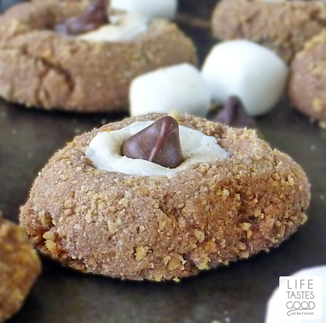 S'more Cookie Recipe | by Life Tastes Good