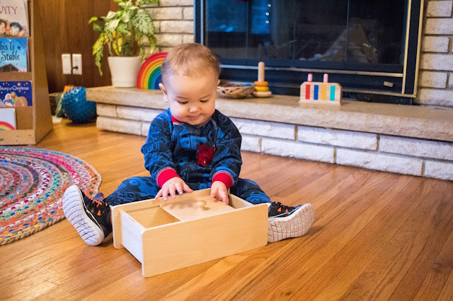 Object permanence challenges for young Montessori toddlers