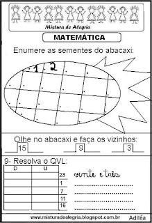 Matemática para séries iniciais de alfabetização
