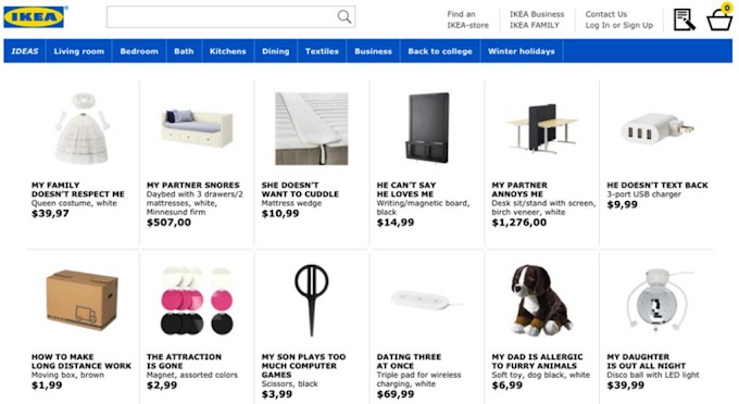 Langkah bijak IKEA promote perabot selesaikan masalah hubungan