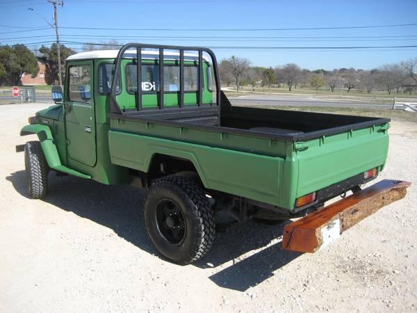 1985 toyota land cruiser hj45 auto restorationice. Black Bedroom Furniture Sets. Home Design Ideas