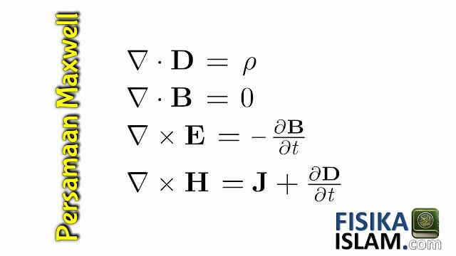 Turunan Rumus Persamaan Maxwell Tentang Gelombang Elektromagnetik