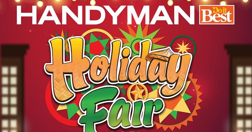 Manila Shopper Handyman Holiday Fair At Robinsons